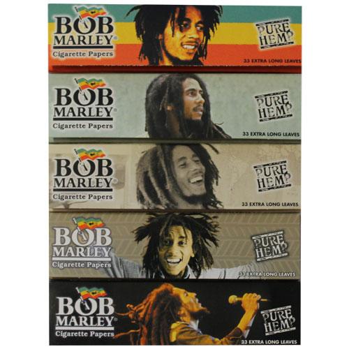 bob marley hemp king size rolling papers 5 pack bobmarlking5pka