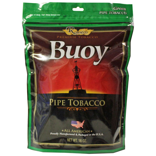 Buoy Green Premium Pipe Tobacco 16oz Bag