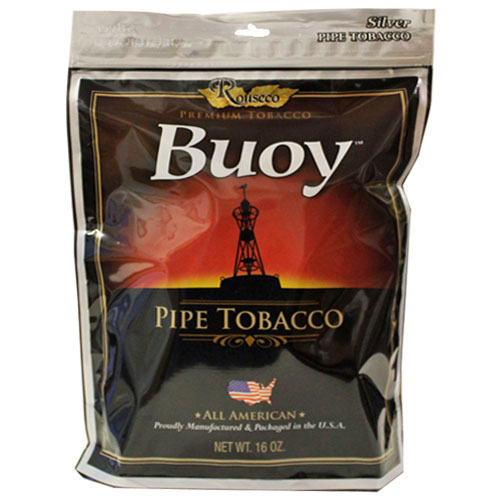 Buoy Silver Premium Pipe Tobacco 16oz Bag