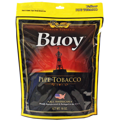 Buoy Yellow Premium Pipe Tobacco 16oz Bag