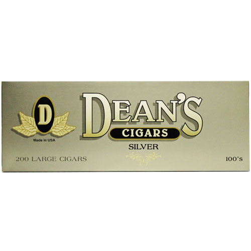 Dean's Silver Filtered Cigars 10 Packs