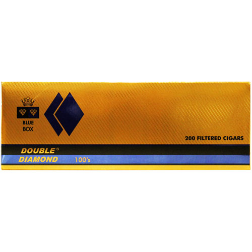 Double Diamond Blue Filtered Cigar 10 Packs