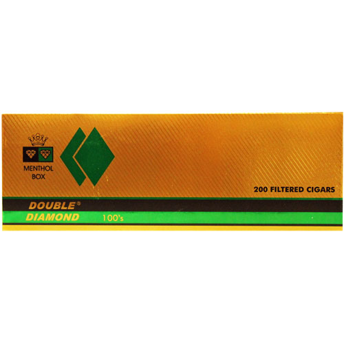 Double Diamond Menthol Filtered Cigar 10 Packs