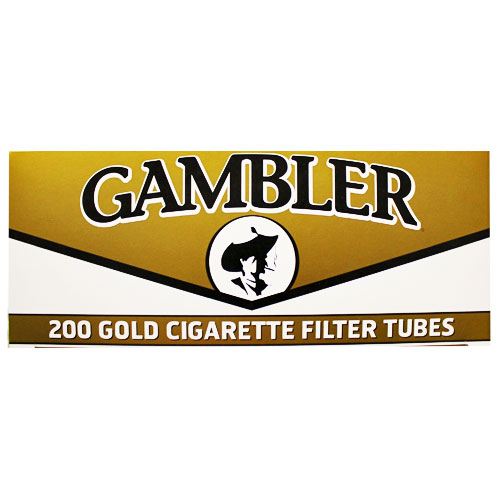 Gambler Gold King Size Filter Tubes 200ct