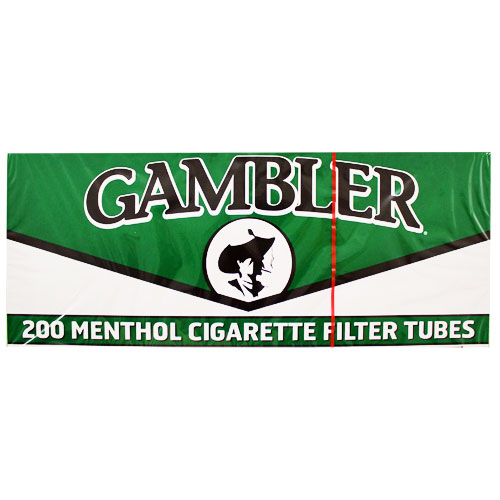 Gambler Menthol King Size Filter Tubes 200ct