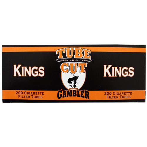 Gambler Tubecut Regular King Size Filter Tubes 200ct