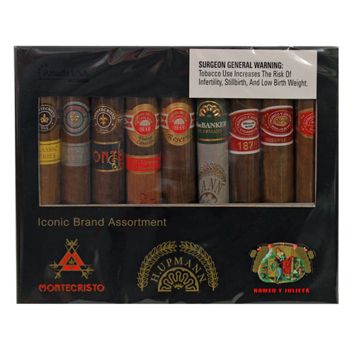 Iconic Brand Assortment 9 Cigar Sampler