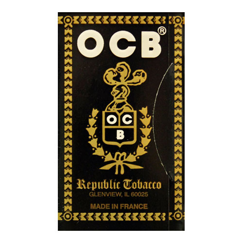 OCB Ungummed Single Wide Rolling Papers Single Pack