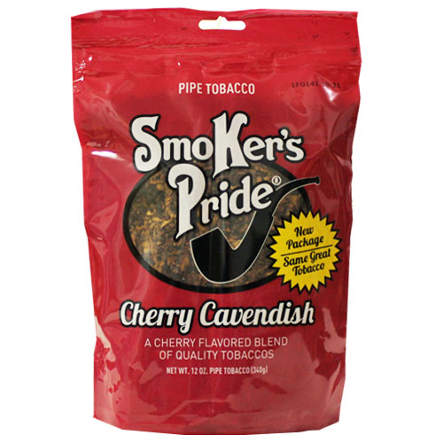 Smokers Pride Cherry Cavendish Blend Pipe Tobacco 12oz