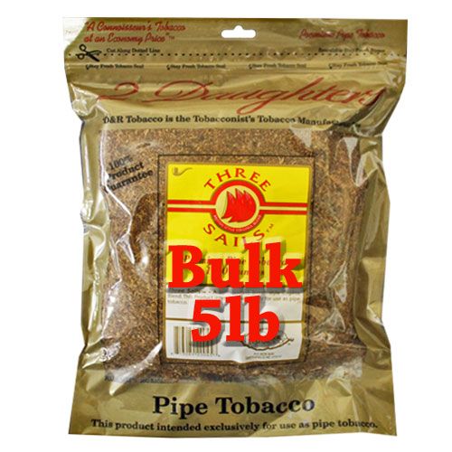 Three Sails Pipe Tobacco 5lb
