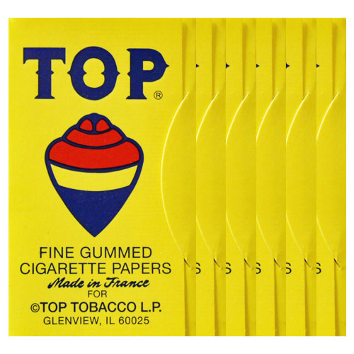 Top Original Single Wide Rolling Papers 6 Pack