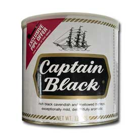 Captain Black Pipe Tobacco 12oz