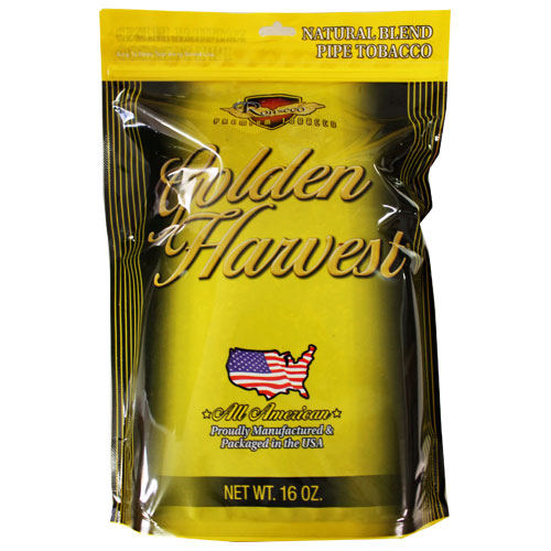 Golden Harvest Natural Pipe Tobacco 6oz
