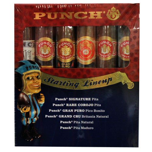 Punch Starting Lineup 6 Pack Cigar Sampler