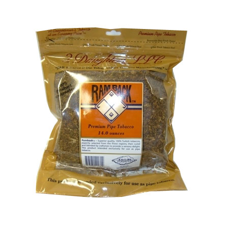 Ramback Regular Pipe Tobacco 16oz