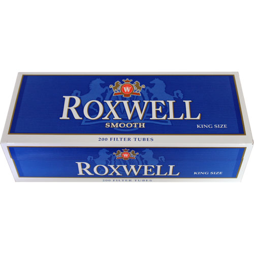 Roxwell Blue King Size Filter Tubes 200ct