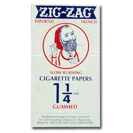 Zig Zag 1 1/4 Size Rolling Papers 24ct Box